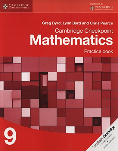 Cambridge Checkpoint Mathematics. Practice Book Stage 9