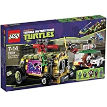 LEGO Teenage Mutant Ninja Turtles - 79104 - Jeu de Construction - La Course Poursuite en Sheelraiser