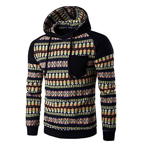 Winter Hooded Outwear Herren feiXIANG Langarm Hoodie Top Bluse Pocket Parka Mantel ()