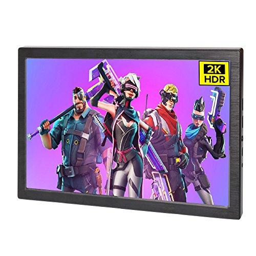 10,1 Zoll Gaming Portable Monitor HDR IPS Schirm UPERFECT 2K 2560 × 1600 HDMI Angetriebener Bildschirm für XboxONES PS3 PS4 Xbox360 Raspberry Pi PC