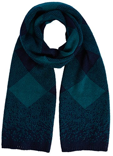 United Colors of Benetton Check Scarf-Sciarpa Donna    verde Taglia unica