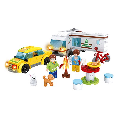 Ausini - Juego de construcción Caravana - 254 piezas (ColorBaby 44351)