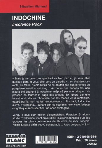 Indochine : Insolence rock