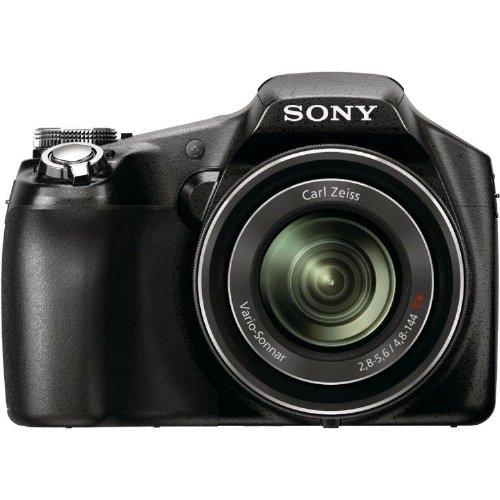 Sony HX100V Digitalkamera (16 Megapixel, 30-fach opt. Zoom, 7,75 cm (3 Zoll) Display, 27-mm-Weitwinkel, Full HD) schwarz Sony Bridge-kameras Digital