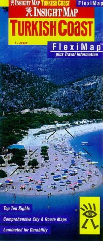 Turkish Coast Insight Fleximap (Insight Flexi Maps)
