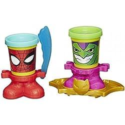 Play-Doh - Pack de 2 botes (B0594), modelos surtidos