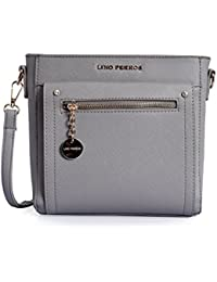 Lino Perros Grey Sling Bag