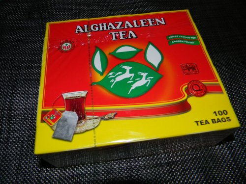 Do Ghazal Tea CEYLON Schwarzer alghazaleen Tee 100 Beutel a 2 Gramm