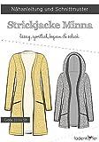 Stoffe Werning Schnittmuster Fadenkäfer Strickjacke Minna - Damen in den Größen 32 bis 58 Papierschnittmuster