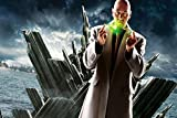 Kevin Spacey Kryptonite Lex Luthor Lights Beige Coat Clouds Superman Return Movie Film Poster Fabric Silk Poster Print 96623 24x36 multicolore