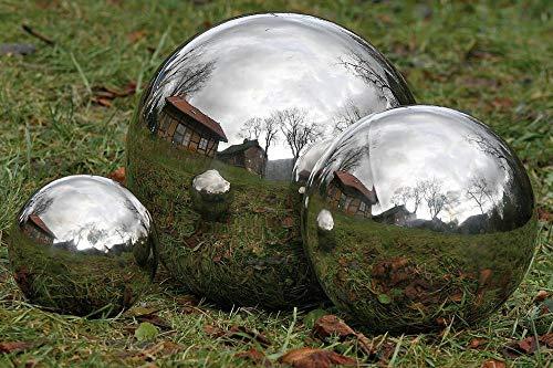 Boule / flotteur - bille en acier inoxydable , boule étang, :Ø 18cm