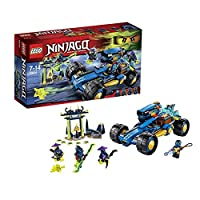 LEGO Car of Master of Spinjitzu Ninjago Jay Walker, Building Set
