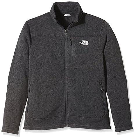 The North Face Men's Gordon Lyons Full Zip Fleece Jacket grey Asphalt Grey Heather Size:XL
