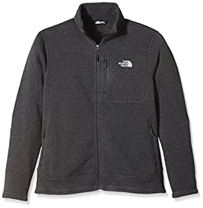 North Face Gordon Lyons Polaire zippé Homme Asphalt Gray Heather FR : S (Taille Fabricant : S)