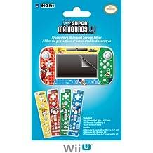 Film De Protectrion Et Skins Décoratives 'New Super Mario Bros.' Pour Wii U [Importación Francesa]