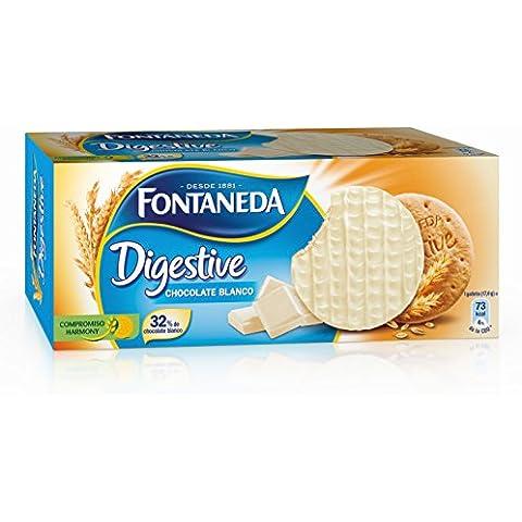 Fontaneda Digestive Galleta Cubierto Con Chocolate Blanco - 300 g