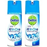Dettol Disinfectant Spray - 400 ml (Crisp Linen) Pack Of 2