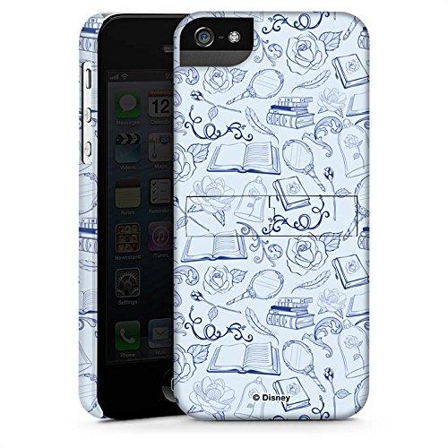 Apple iPhone X Silikon Hülle Case Schutzhülle Die Schöne und das Biest Muster Disney Premium Case StandUp