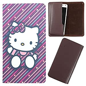 DooDa - For XOLO LT2000 PU Leather Designer Fashionable Fancy Case Cover Pouch With Smooth Inner Velvet