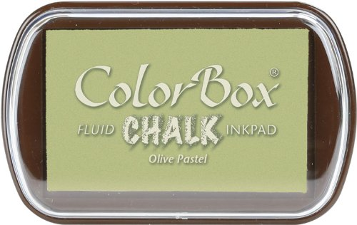Unbekannt Clearsnap ColorBox Fluid Chalk Tinte pad-Olive Pastell Olive Pad