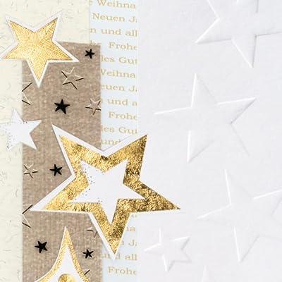 Sigel DS376 Weihnachtskarten Set mit Umschlag
