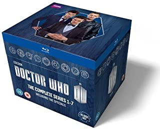 Doctor Who: The Complete Box Set - Series 1-7 [Blu-ray] (B00EZ6VZGS) | Amazon price tracker / tracking, Amazon price history charts, Amazon price watches, Amazon price drop alerts
