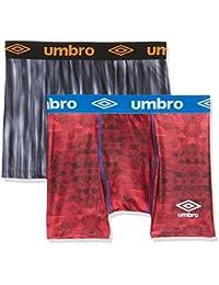 Umbro Packx2, Boxer Homme, (lot de 2 )
