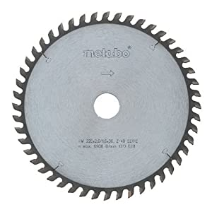 Metabo 628049000 250 x 30 60 WZ HW/CT Circular Saw Blade
