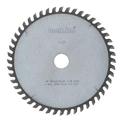 Metabo 628049000 250 x 30 60 WZ HW/CT Circular Saw Blade