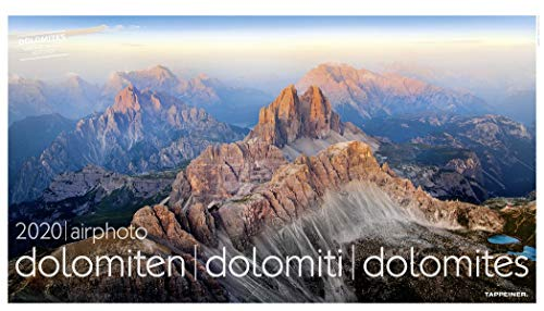 Luftbildkalender - airphoto Dolomiten 2020 70x40cm