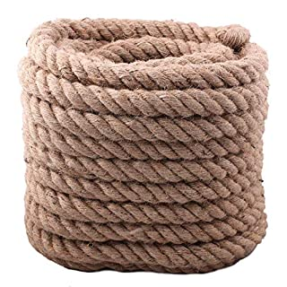 BigTree Garden Decking Rope 4 Strand Super Strong 30mmx20m Tug Of Exercise Training Rope