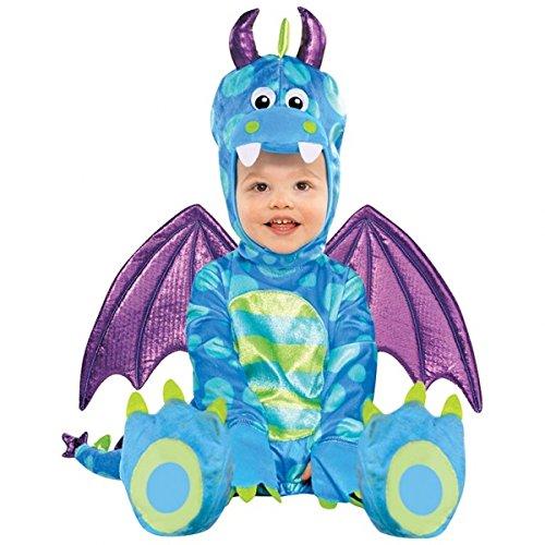 Revestimiento trajes de carnaval Little Dragon 6-12 Meses