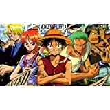 Manga Anime - One Piece XXL ONE PIECE NOT SECTIONS Over 1 Meter Wide Glossy Poster Art Print! (7) **SAME DAY SHIPPING**