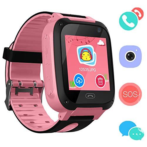 bhdlovely Kids Smart Watch Touchscreen Kinder Smartwatch mit Kamera für Jungen Mädchen Geburtstagsgeschenke (Jungen Screen Touch Uhren Kinder)