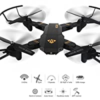 HUHU833 VISUO XS809HW RC Quadcopter Wifi FPV 2MP HD Foldable Selfie Drone