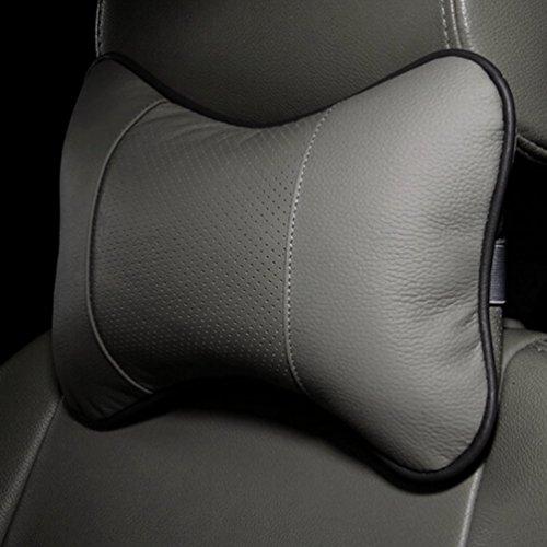 Gugutogo-Cuscino-poggiatesta-a-forma-di-osso-solido-Cuscino-in-pelle-di-stoffa-per-auto-Testa-cilindrica-Colore-grigio