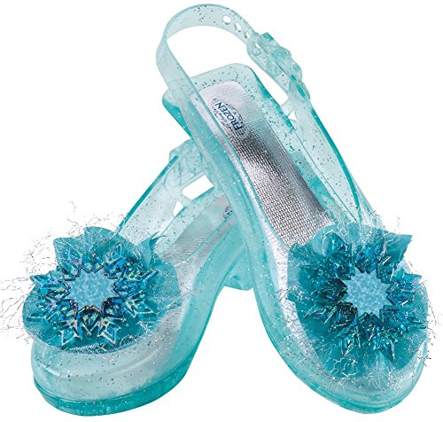 Zapatos para niñas, diseño Frozen Elsa, color verde