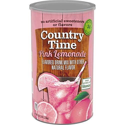Country Time Pink Lemonade Drink Mix, 5lb. 2.5oz