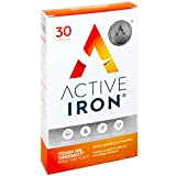 Active Iron | Iron Tablets | Ferrous Iron Sulphate Supplement | Recommended by Doctors | 1-Month Supply from Solvotrin Therapeutics Limited