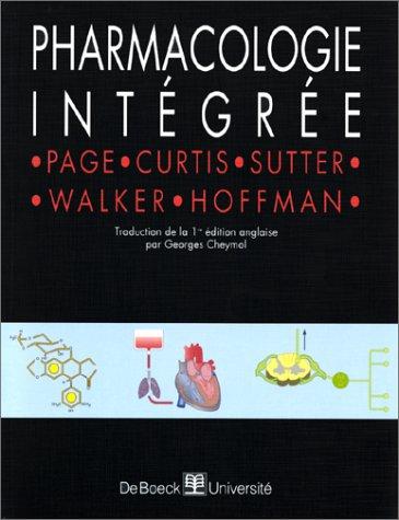 Pharmacologie intégrée