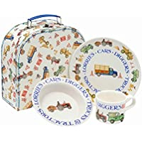 Emma Bridgewater Childs Melamine Feeding Set Multi-Colour 220 x 220 x 100  sc 1 st  Amazon UK & Amazon.co.uk: Melamine - Dinnerware Sets / Tableware: Home \u0026 Kitchen