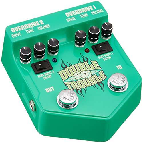 VISUAL SOUND DOUBLE TROUBLE OVERDRIVE PEDAL