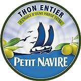 Petit Navire thon entier à l'huile d'olive 1/5 160g - ( Prix Unitaire ) - Envoi Rapide Et Soignée