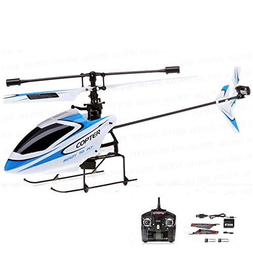 4.5 Kanal Single-Rotor RC ferngesteuerter Hubschrauber mit 2.4GHz-Technik und Gyro-System, Ready-to-Fly, inkl. Akku und Fernsteuerung