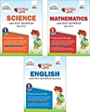 #7: Olympiad Champs Science, Mathematics, English Class 1 with Past Questions (Set of 3 Books)