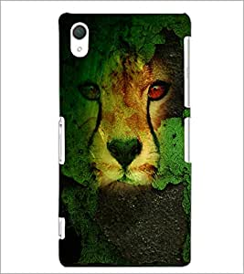 PrintDhaba Leopard D-4833 Back Case Cover for SONY XPERIA Z2 (Multi-Coloured)