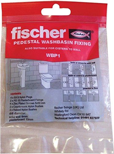 Fischer fissaggio lavabo con piedistallo