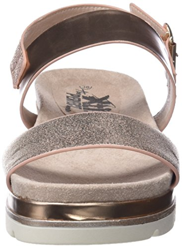 Xti 47742, Sandales Bout Ouvert Femme Rose (Nude)