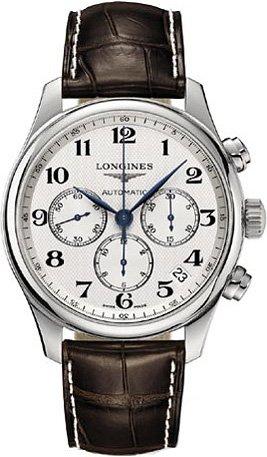 Longines Master Homme 44mm Chronographe Automatique Date Montre L26934783