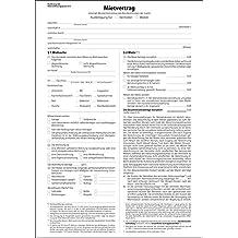 Suchergebnis Auf Amazonde Für Mietvertrag